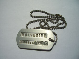 Wolverine's Dog Tag