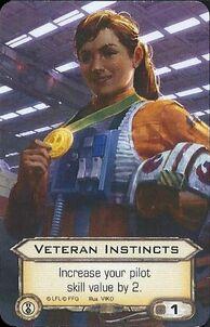 X-Wing Veteran Instincts Alt Art