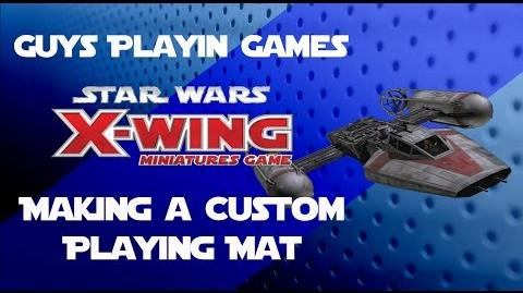 FFG Star Wars X-Wing - Custom Playing Mat