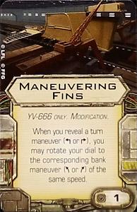 Maneuvering fins-1