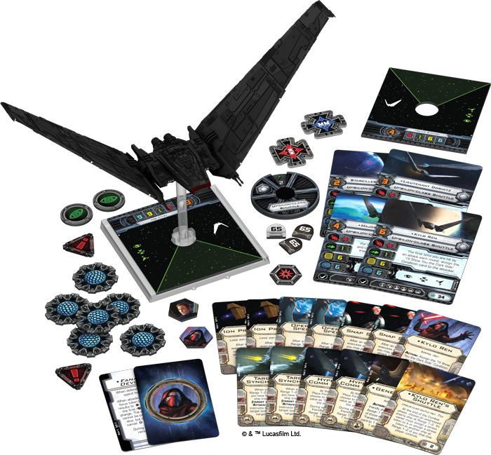 Upsilon-class Shuttle Expansion Pack | X-Wing Miniatures Wiki | FANDOM powered by Wikia