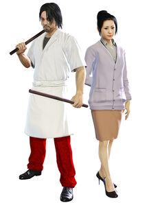 Fei Hu and his wife