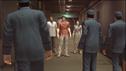 Hamazaki,Kiryu and Yasuko were caught Saito's guards men