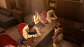Kiryu,Yumi,Nishiki and Reina having fun chatting
