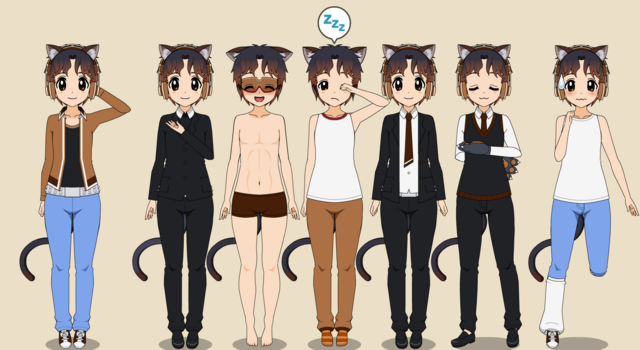 Image - Purin outfits.png | Yandere Simulator Fanon Wikia | Fandom powered by Wikia