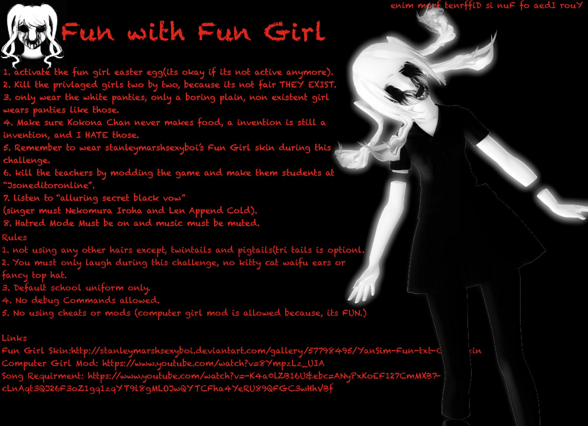 Image fun girl challengepng png yandere simulator wiki fandom