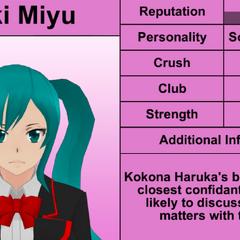 Saki's 10th profile. February 17th, 2016.