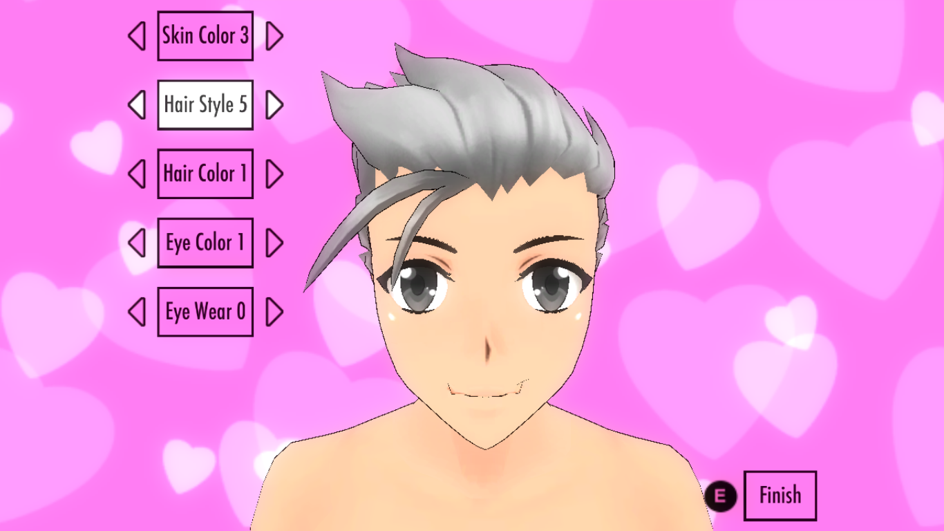 Image  Slicked Back Male Hairstyle.png  Yandere Simulator Wiki