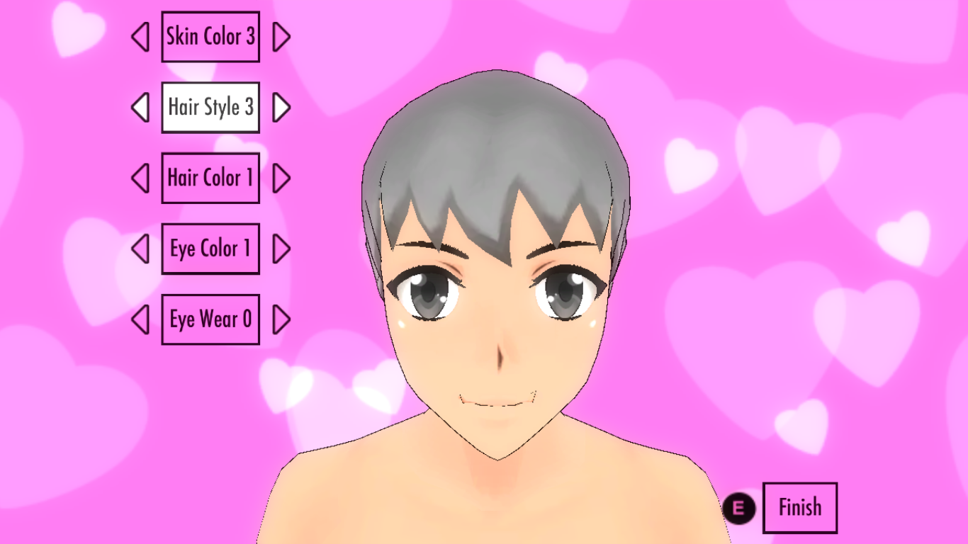 Image  Short Male Hairstyle.png  Yandere Simulator Wiki  Fandom