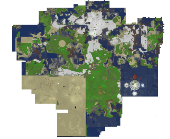 Minecraftia top view