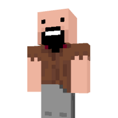 Notch's choice of <i>Minecraft</i> skin.