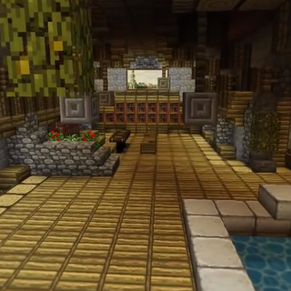 New and improved YogCave's interior.
