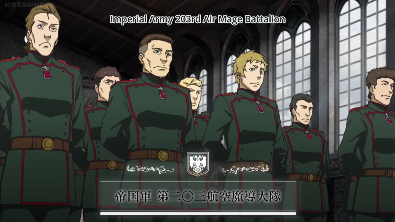 University Of Central Arkansas >> Imperial Army 203rd Air Mage Battalion | Youjo Senki Wiki | FANDOM powered by Wikia