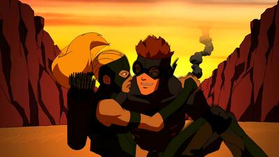 Kid Flash X Artemis Second first meeting