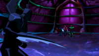 The heroes ambush Black Beetle