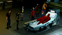 Red Tornado and the Team reunited