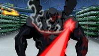 Black Beetle takes damage