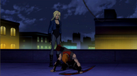 Black Canary's disappointment