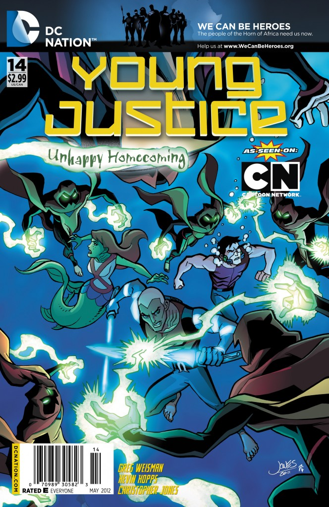 Young Justice Outsiders  Wikipedia