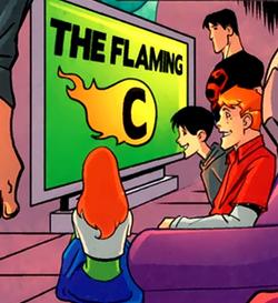 Flaming C