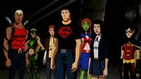 Zatanna with the Team