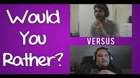 Would You Rather? Eatmydiction1 Vs Guitarmasterx7