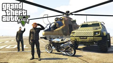 GTA 5 Online Heists - All Heist Vehicles Unlocked (Valkyrie, Savage and Hydra Jet)