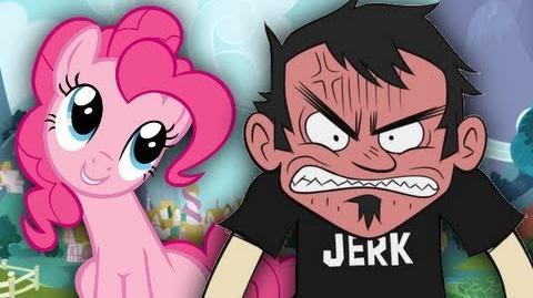 Dan vs Pinkie Pie - Epic Rap Battles of Cartoons 4