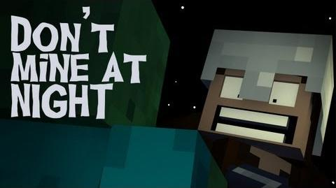"""Don't Mine At Night"" - A Minecraft Parody of Katy Perry's Last Friday Night (Music Video)"