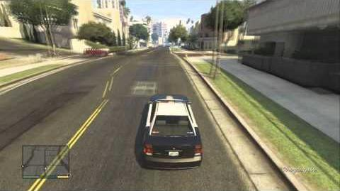 GTA V Rare Buffalo Police Car