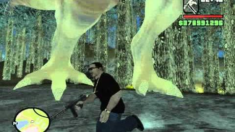 GTA SA Myths; The T-Rex Found!