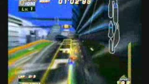 Sonic Riders - Super Sonic - Metal City