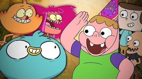 Clarence vs Harvey Beaks. Epic Rap Battles of Cartoons Season 3