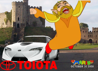 The King gets a Car TOIOTA by 64marjo64