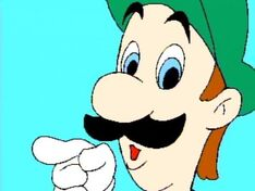 It's Super Luigi!