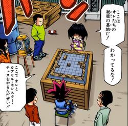 Yugi faces Mokuba