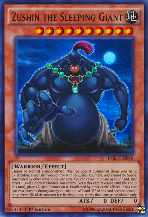 Card Trivia:Zushin the Sleeping Giant Yu-Gi-Oh! FANDOM powered by Wikia