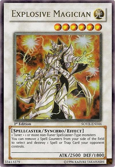Explosive Magician YuGiOh