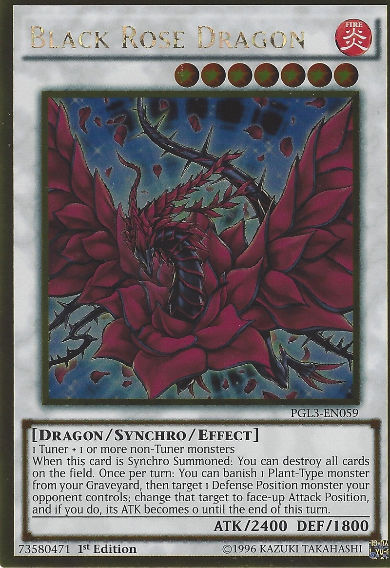 Black Rose Dragon Yu Gi Oh Fandom Powered By Wikia