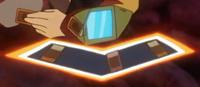 Makoto's Duel Disk