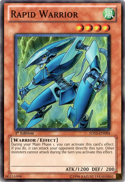 rapid warrior yugioh fandom powered by wikia
