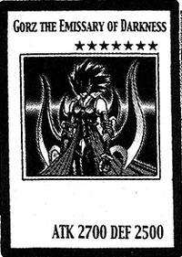 Gorz the Emissary of Darkness (manga) | Yu-Gi-Oh! | Fandom ...