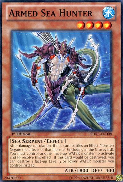 Card Rulings Armed Sea Hunter Yu Gi Oh Fandom Powered