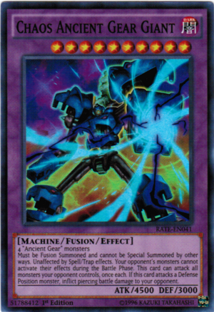 Chaos Ancient Gear Giant Yu Gi Oh Fandom Powered By Wikia