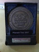 PharaohTour2007-MedalCase