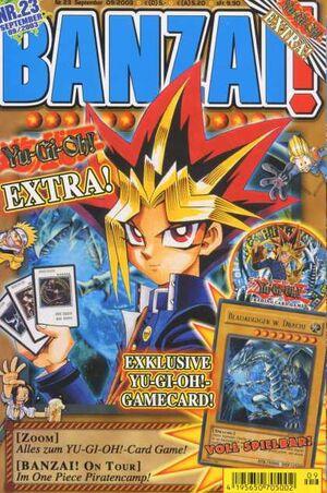 Banzai September 2003 cover