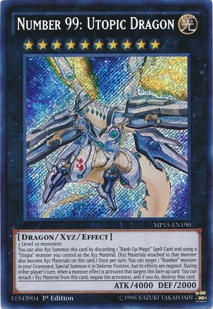 Yugioh Number 99 Universe Dragon Number 99: Utopic Drag...