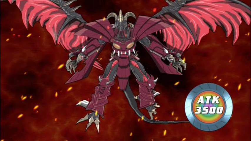 red dragon archfiendassault mode anime yugioh