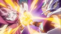III giving Yuma his Crest's power