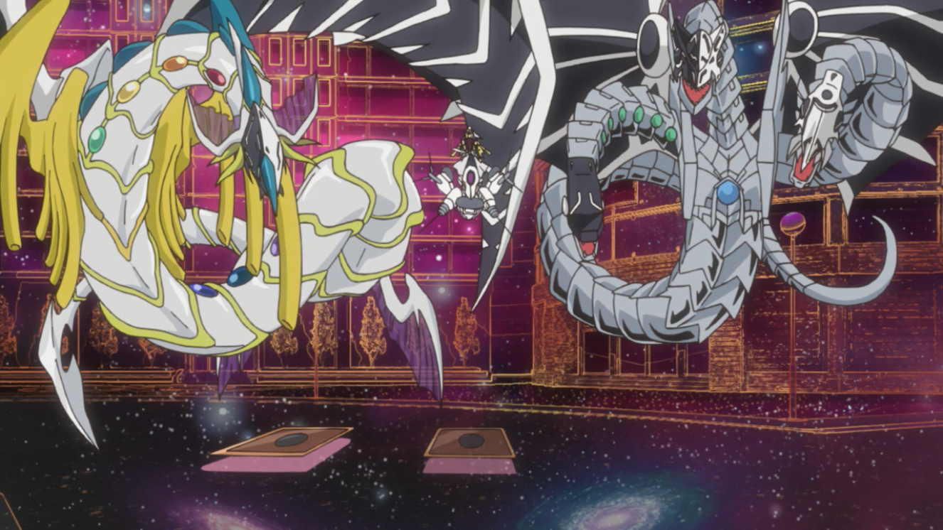 Malefic Stardust Dragon Wallpaper